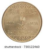 new coin saudi arabia coat of...   Shutterstock . vector #730122460