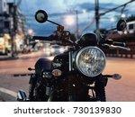 october 8  2017 urban street at ... | Shutterstock . vector #730139830