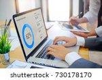 analysis business concept... | Shutterstock . vector #730178170