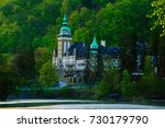 lillafured palace in miskolc ... | Shutterstock . vector #730179790