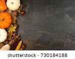 Autumn Harvest Side Border Wit...