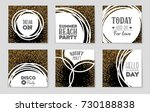 abstract vector layout... | Shutterstock .eps vector #730188838