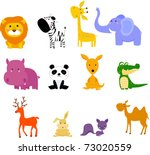 animal | Shutterstock .eps vector #73020559