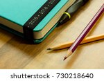 diaries year 2018  stationery ... | Shutterstock . vector #730218640