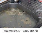 clogged sink | Shutterstock . vector #730218670
