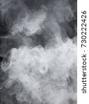 the dense texture of the smoke | Shutterstock . vector #730222426