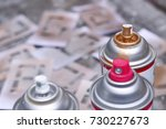spray paint photo for your...   Shutterstock . vector #730227673