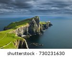 neist point lighthouse   isle... | Shutterstock . vector #730231630