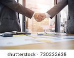 business partnership concept.... | Shutterstock . vector #730232638