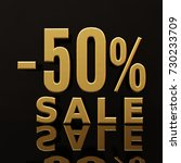 percent discount sign  sale up... | Shutterstock . vector #730233709