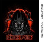 devil   Shutterstock .eps vector #730234600