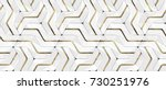 3d Wall White Panels With Gold...