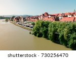 view on maribor city and bank...   Shutterstock . vector #730256470