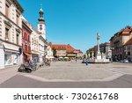 maribor  slovenia   august 24 ...   Shutterstock . vector #730261768