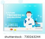 microbiologist studying new...