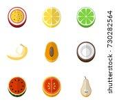 set of 9 editable berry flat...