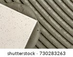 close up detail of floor tiles... | Shutterstock . vector #730283263