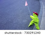peculiar original traffic... | Shutterstock . vector #730291240