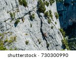gorges du verdon  provence ...   Shutterstock . vector #730300990
