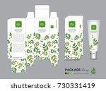 organic packaging template... | Shutterstock .eps vector #730331419
