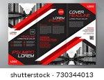 business brochure. flyer design.... | Shutterstock .eps vector #730344013