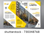 business brochure. flyer design.... | Shutterstock .eps vector #730348768