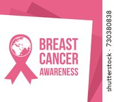 collection world breast cancer... | Shutterstock .eps vector #730380838