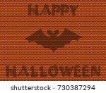 vector illustration of  bat... | Shutterstock .eps vector #730387294
