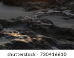 sunset reflection blurry... | Shutterstock . vector #730416610