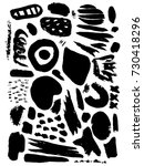 creative pattern. artistic...   Shutterstock .eps vector #730418296