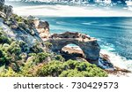 the arch at port campbell... | Shutterstock . vector #730429573