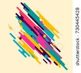 minimalistic design  creative... | Shutterstock .eps vector #730445428