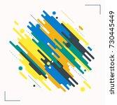 minimalistic design  creative... | Shutterstock .eps vector #730445449