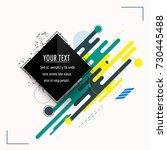minimalistic design  creative... | Shutterstock .eps vector #730445488