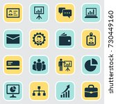 job icons set. collection of... | Shutterstock .eps vector #730449160