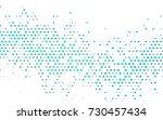 light blue  green vector modern ... | Shutterstock .eps vector #730457434