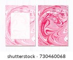 vector marble abstract...   Shutterstock .eps vector #730460068