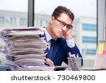 Workaholic Businessman...