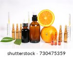 vitamin c and mesotherapy....   Shutterstock . vector #730475359
