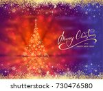 abstract blue red background... | Shutterstock .eps vector #730476580