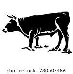 vector flat illustration of a... | Shutterstock .eps vector #730507486