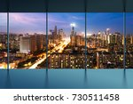 office cityscape builidings... | Shutterstock . vector #730511458
