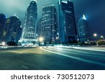 futuristic urban buildings at... | Shutterstock . vector #730512073