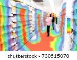 heatmap analytic in smart... | Shutterstock . vector #730515070