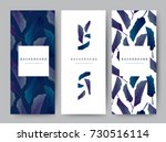 branding packaging leaf nature... | Shutterstock .eps vector #730516114