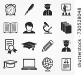 education icons | Shutterstock .eps vector #730528048