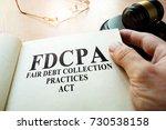 fair debt collection practices... | Shutterstock . vector #730538158