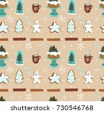 hand drawn vector abstract... | Shutterstock .eps vector #730546768