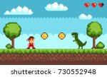Old Style Pixel Game   Picture...