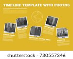 vector infographic company... | Shutterstock .eps vector #730557346